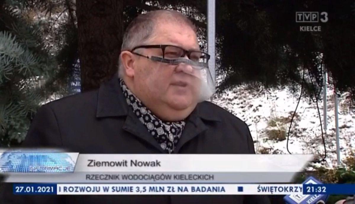 Rzecznik Kieleckich Wodociągów dał przykład, jak nie rozmawiać z mediami