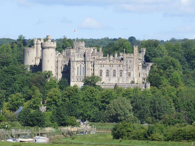 Zamek Arundel, zdjęcie ilustracyjne