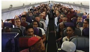 USA - na pokładzie samolotu jak na Broadwayu