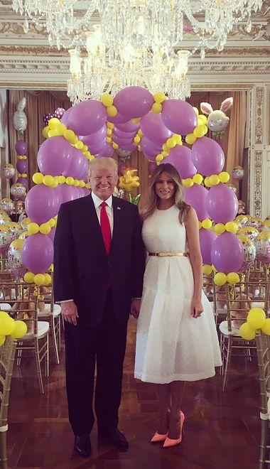 """Wielkanoc u Trumpów, """"jak na weselu w Pierdziszewie"""""""