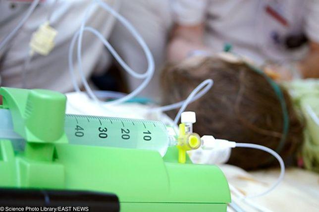 Dziewczynka przebywa obecnie w szczecińskim szpitalu