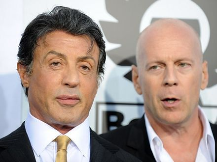 Sylvester Stallone: Bruce Willis jest chciwy