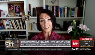 """Rzecznik Praw Dziecka o edukatorach seksualnych. Dr Ewa Woydyłło-Osiatyńska: """"to propaganda"""""""