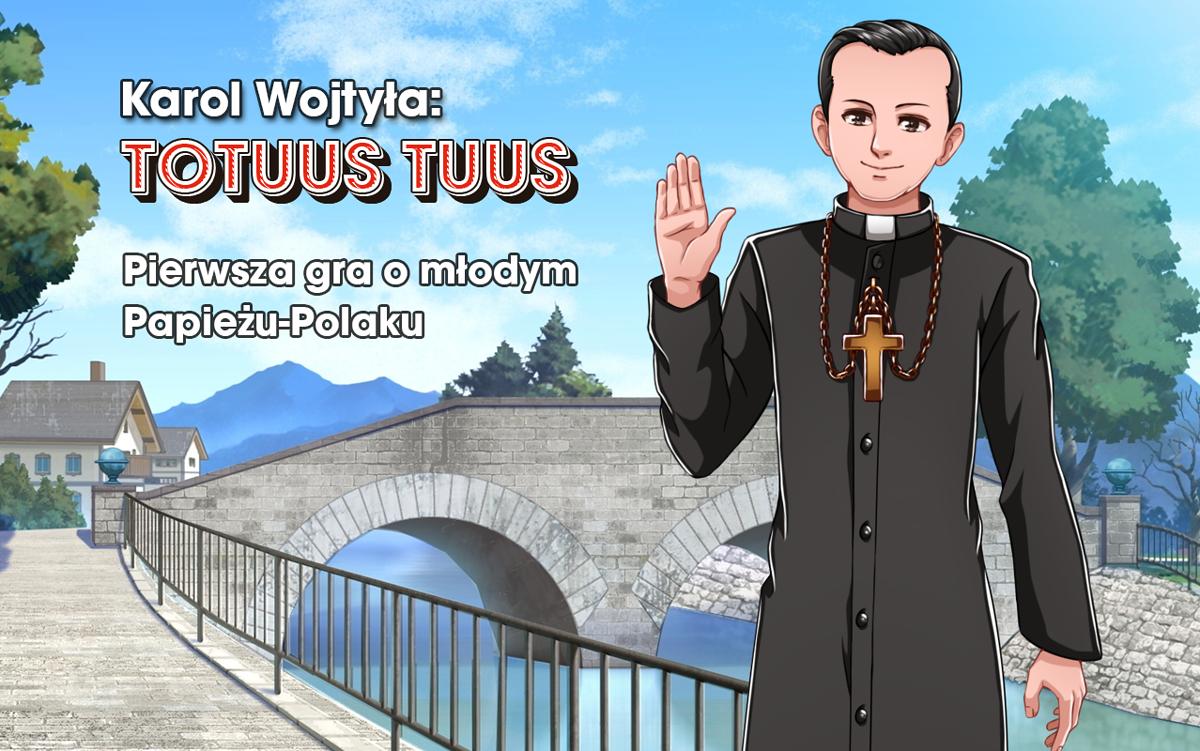"""""""Karol Wojtyła: Totus Tuus"""". Polacy stworzą grę o Janie Pawle II"""