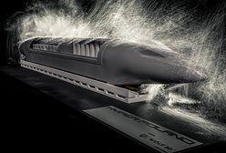 Hyper Poland: Tak wygląda model polskiego hyperloopa. Z Warszawy do Krakowa w 20 minut