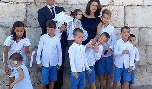Hiszpańska rodzina z koronawirusem