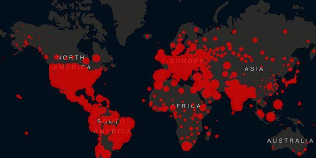 WHO podała najnowsze dane dotyczące zakażeń koronawirusem