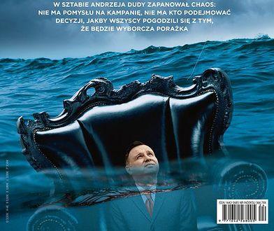 """Okładki tygodników. Kulisy kampanii prezydenta Andrzeja Dudy w poniedziałkowym """"Newsweeku"""""""