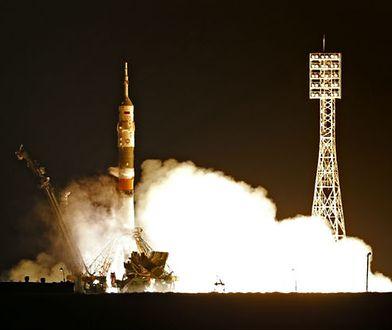 Statek Sojuz wystartował. Trzech astronautów leci na Międzynarodową Stację Kosmiczną