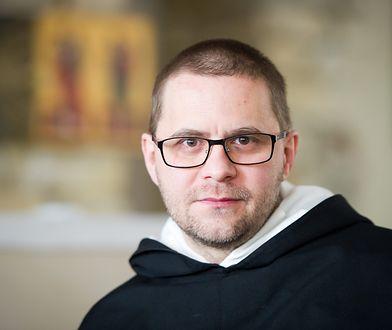 Dominikanin, o. Paweł Gużyński.