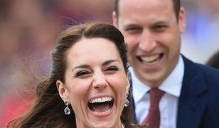Księżna nie mogła powstrzymać śmiechu