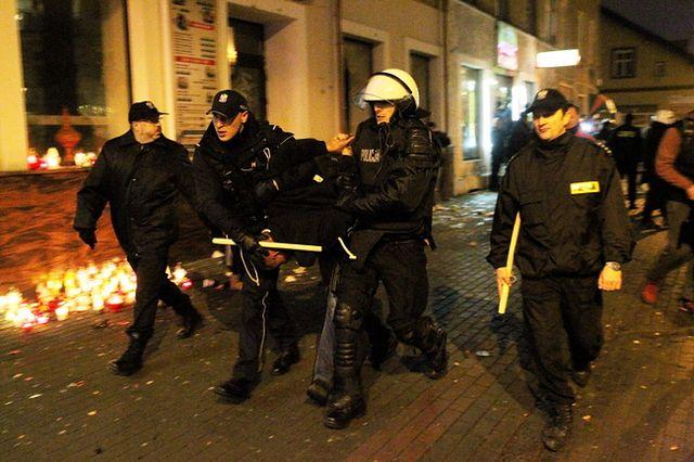 Policja na ulicach Ełku