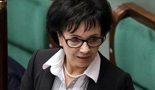 Sejm. W trakcie obrad doszło do spięcia z udziałem Elżbiety Witek