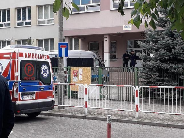 Tragedia w warszawskiej szkole.