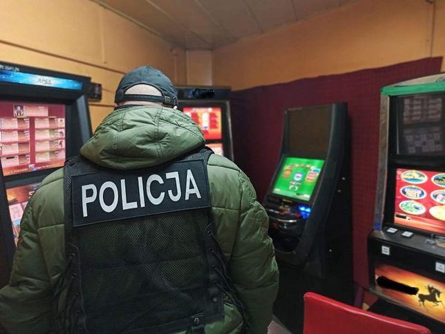 Mazowieckie. Policjanci zlikwidowali nielegalne salony gier
