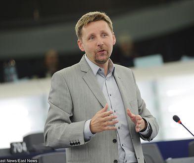 Marek Migalski w Strasburgu