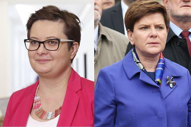 Beata Szydło opozycji