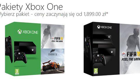 Znamy polską cenę Xbox One i zawartość zestawów z konsolą