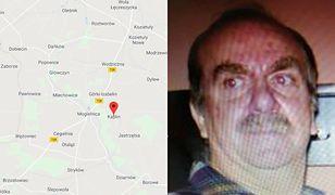 Poszukiwany Jacek D. ma 60 lat