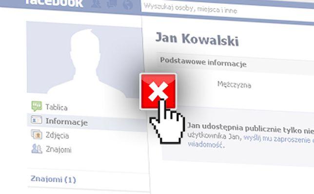 jak usunąć fb