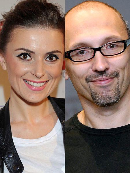 Halinka Mlynkova i Leszek Wronka