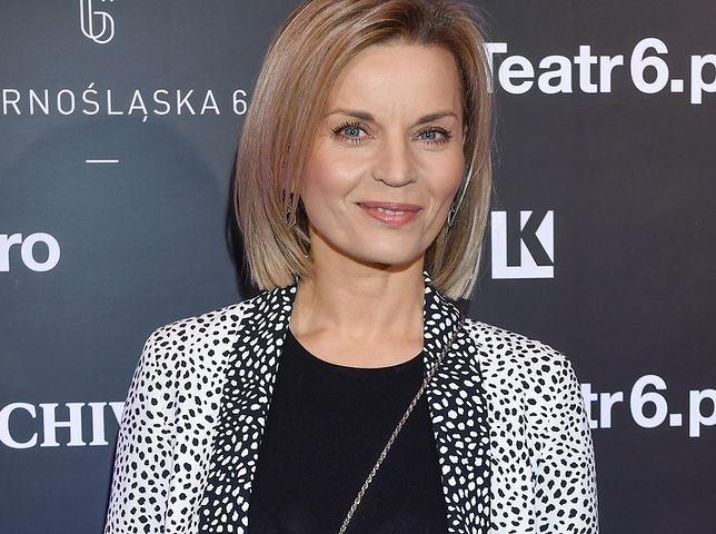 Małgorzata Foremniak zaskoczyła porównaniem siebie do manekina.