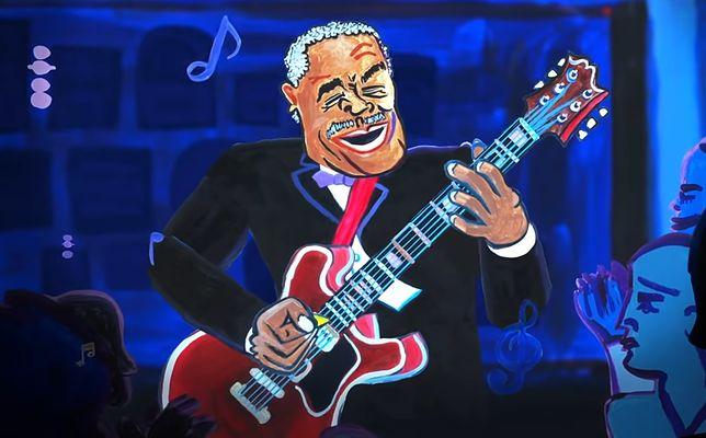 B. B. King w Google Doodle. Dziś muzyk obchodziłby 94. urodziny
