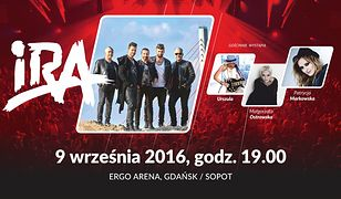 IRA w towarzystwie trzech znakomitych polskich wokalistek w Ergo Arenie!