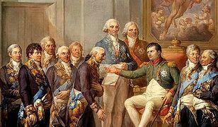 Nadanie konstytucji Księstwu Warszawskiemu uwiecznił Marcello Bacciarelli