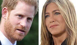 Jennifer Aniston miała być świadoma tego, jakimi uczuciami darzy ją książę Harry