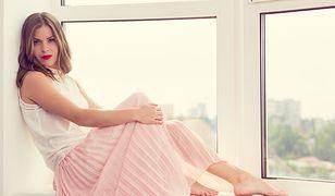 Plisowane spódnice najpiękniej wyglądają latem