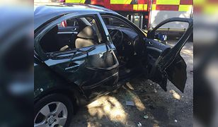 Dwie eksplozje w autach w Wielkiej Brytanii. Kierowcy ofiarami odświeżaczy powietrza