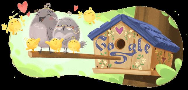 Dzień Babci 2020 na grafice Google Doodle