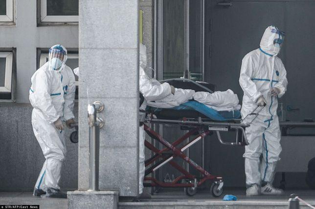 Chiny. Wirus przenosi się z człowieka na człowieka