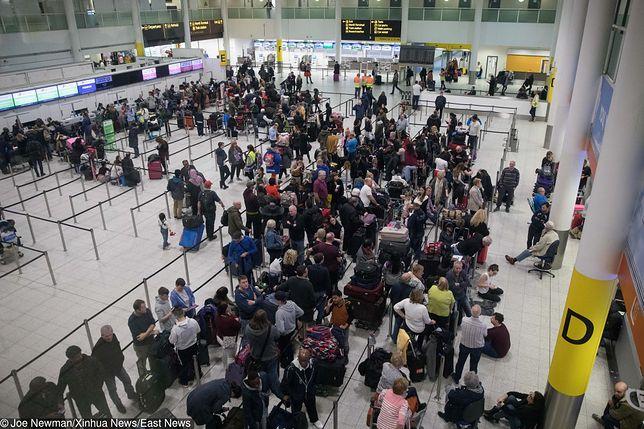 Londyn: Lotnisko Gatwick ponownie zamknięte. Znów zauważono drony