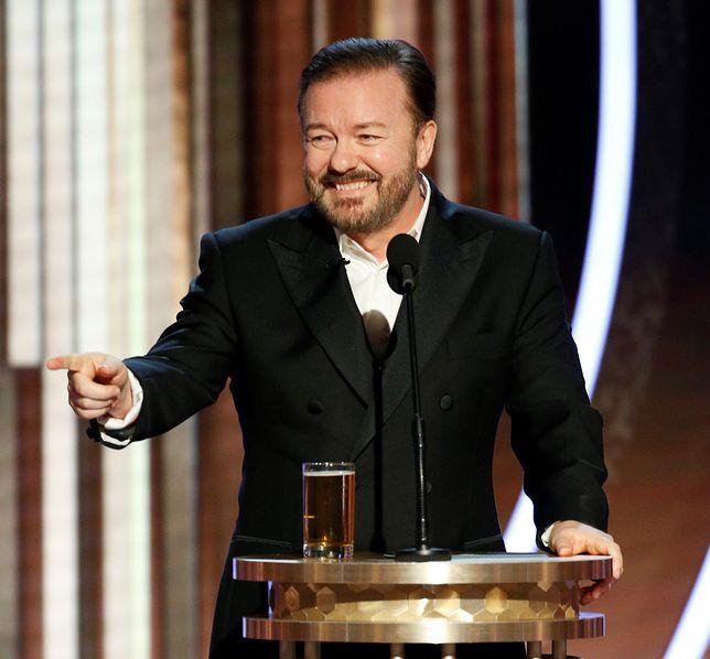 Ricky Gervais nie poprowadzi w przyszłym roku Złotych Globów