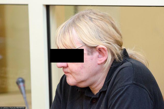 Gostynin. Pedofil Mariusz T. podczas rozprawy w Płocku (zdj. arch.)