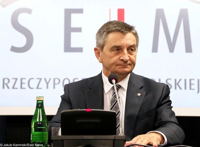 Marek Sawicki: w służbowym mieszkaniu marszałka Kuchcińskiego mieszka jego syn