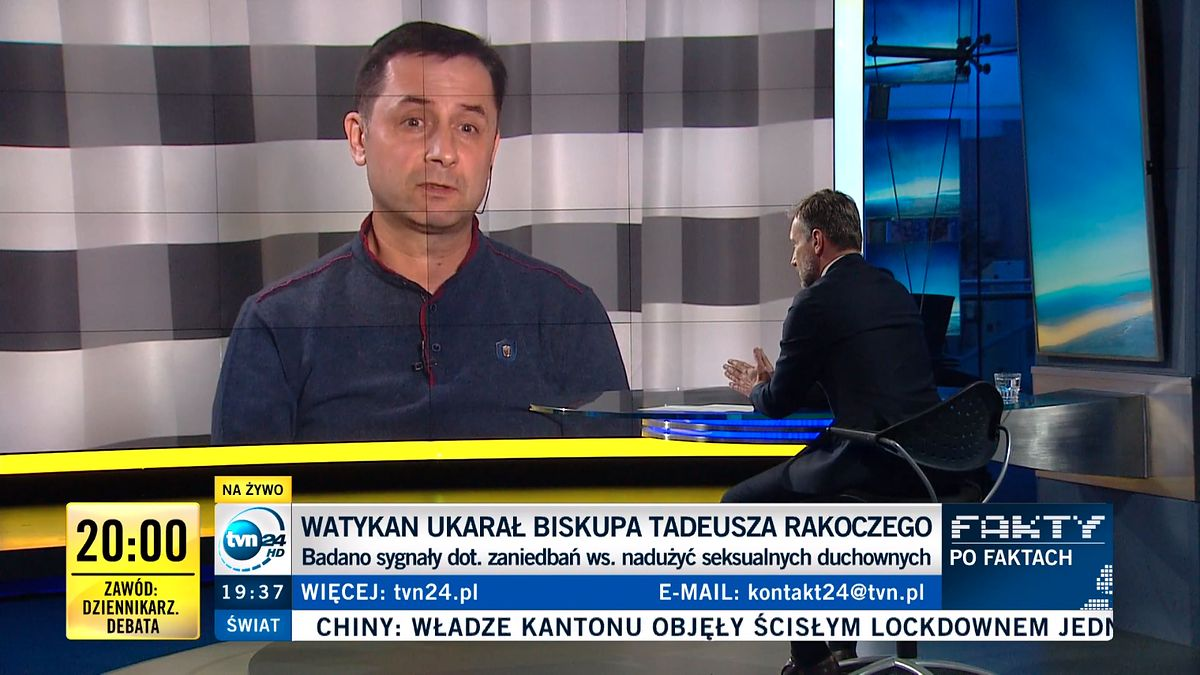 """Janusz Szymik był gościem """"Faktów po faktach"""""""
