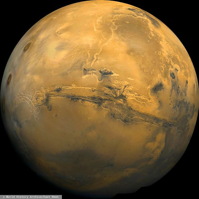 Tlen w atmosferze Marsa dziwnie się zachowuje. NASA zaskoczone najnowszymi badaniami