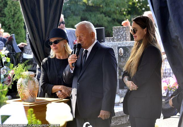 Leszek Miller podczas pogrzebu wygłosił przemówienie