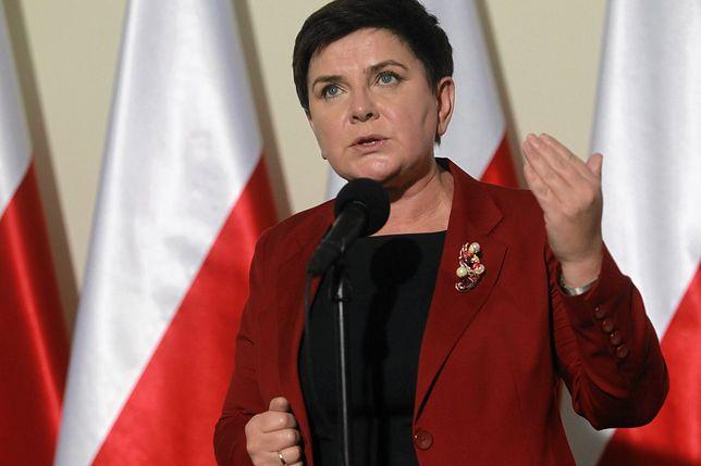 Beata Szydło z trudnością komentuje doniesienia o rekonstrukcji
