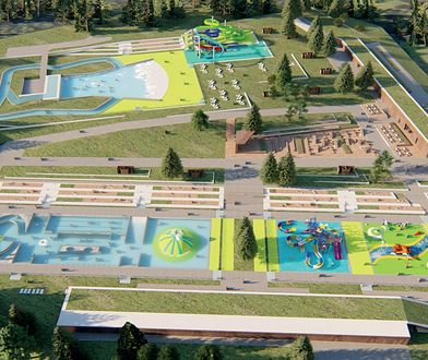 """Zaprezentowana została koncepcja budowy kąpieliska """"Fala"""""""