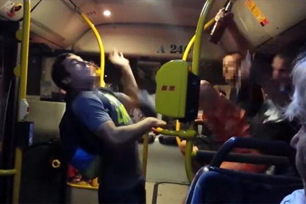 Polsko-ukraińska bójka w autobusie. Wszystko się nagrało!