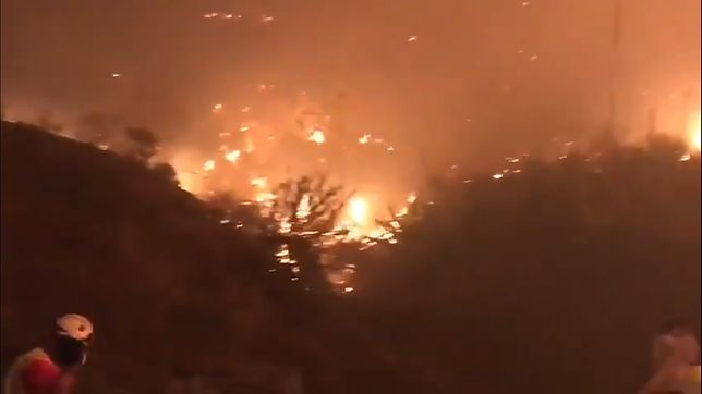Gran Canaria. Lasy cały czas płoną [WIDEO]