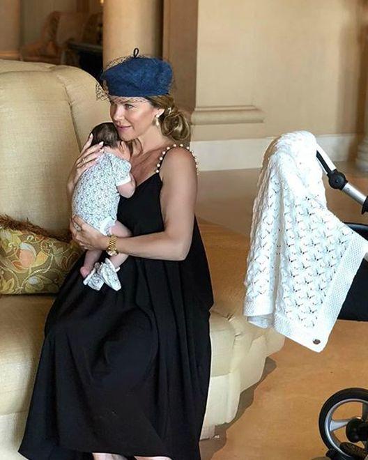 Kinga Korta kilka tygodni po porodzie opływa w luksusy