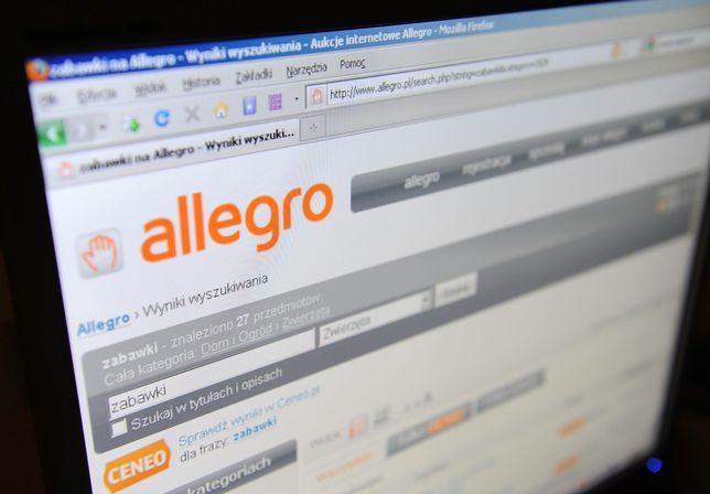 Korzystasz z Allegro? Możesz paść ofiarą oszustwa. Uwaga na fałszywe maile