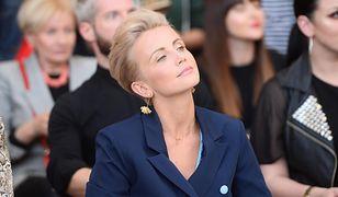 Katarzyna Zielińska zaprezentowała się w nietypowej stylizacji