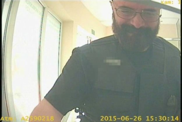 Tak wyglądał konwojent w dniu kradzieży (KWP w Poznaniu)