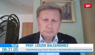 PiS dostrzegł problem kopalń. Balcerowicz komentuje plan Sasina